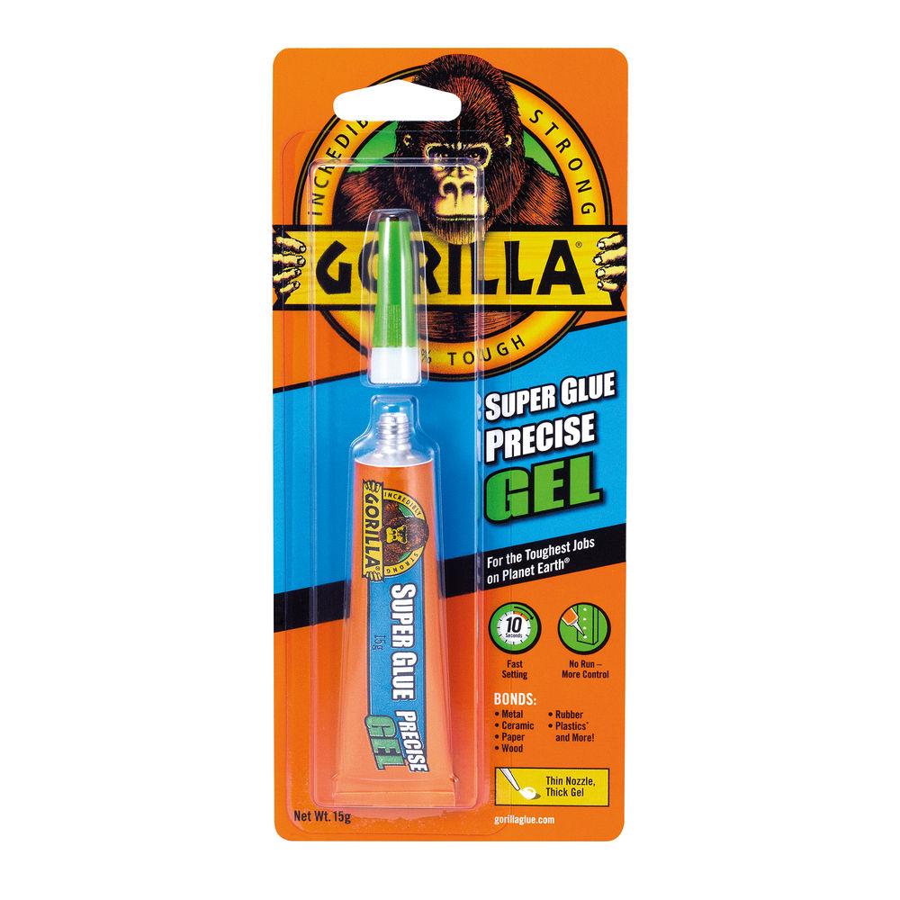 Gorilla 15g Precise Gel Super Glue - 4044611