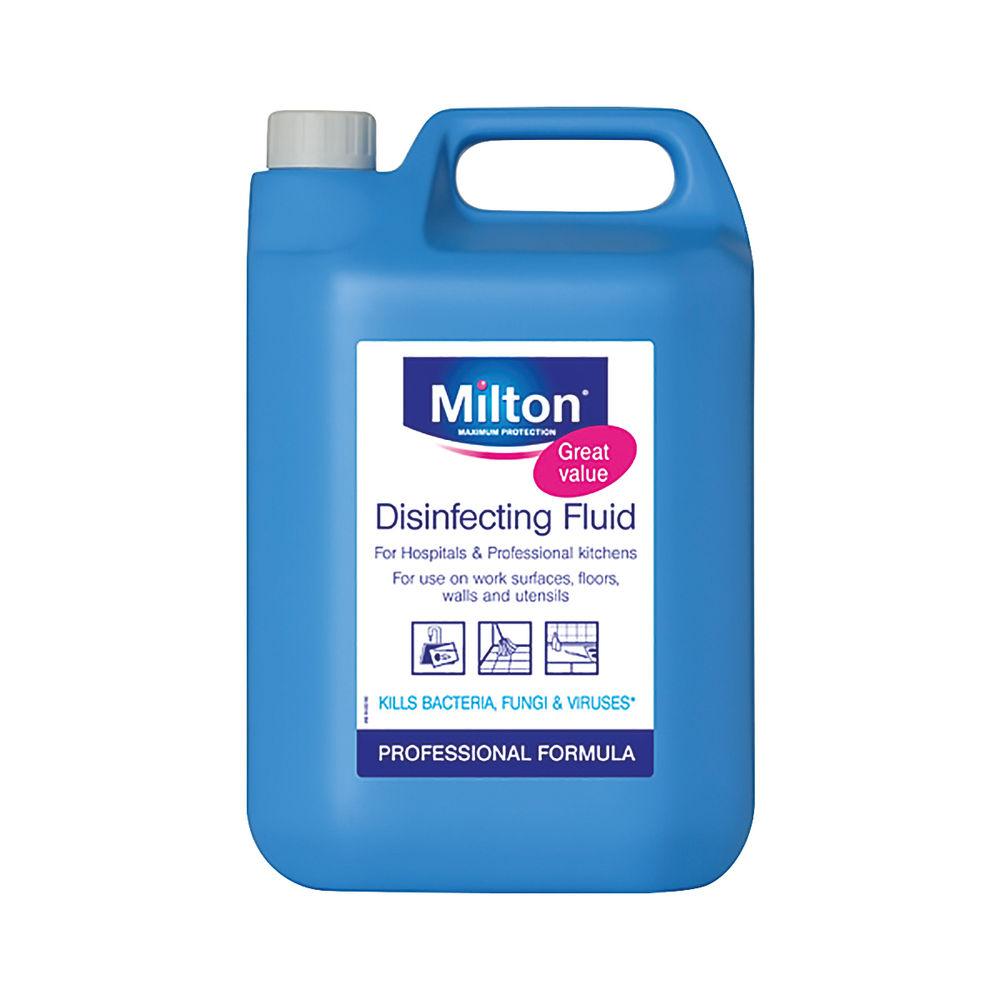 Milton Disinfecting Fluid 5 Litre | 5413149890275