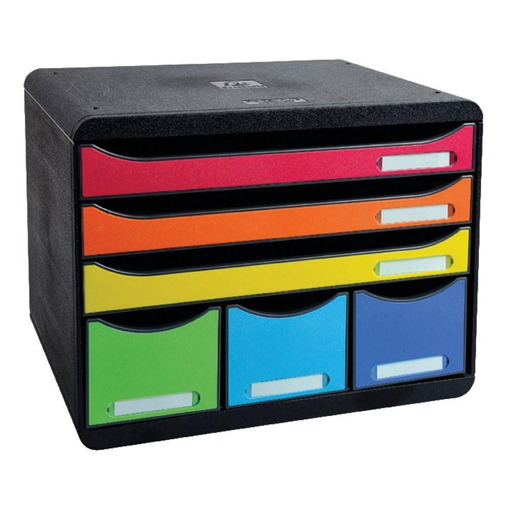 Iderama Store Box Maxi 6 Drawer Set Harlequin 306798D