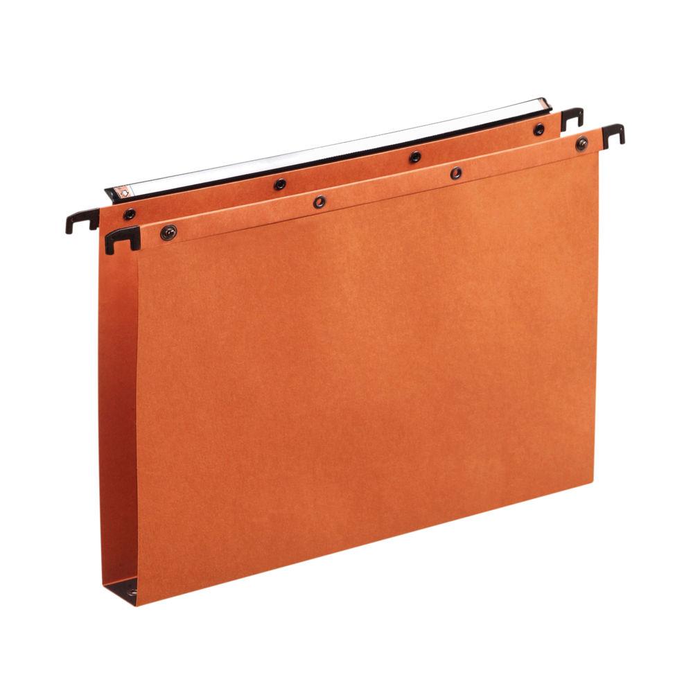 Elba Suspension File Manilla Foolscap Orange (Pack of 25) 100330314