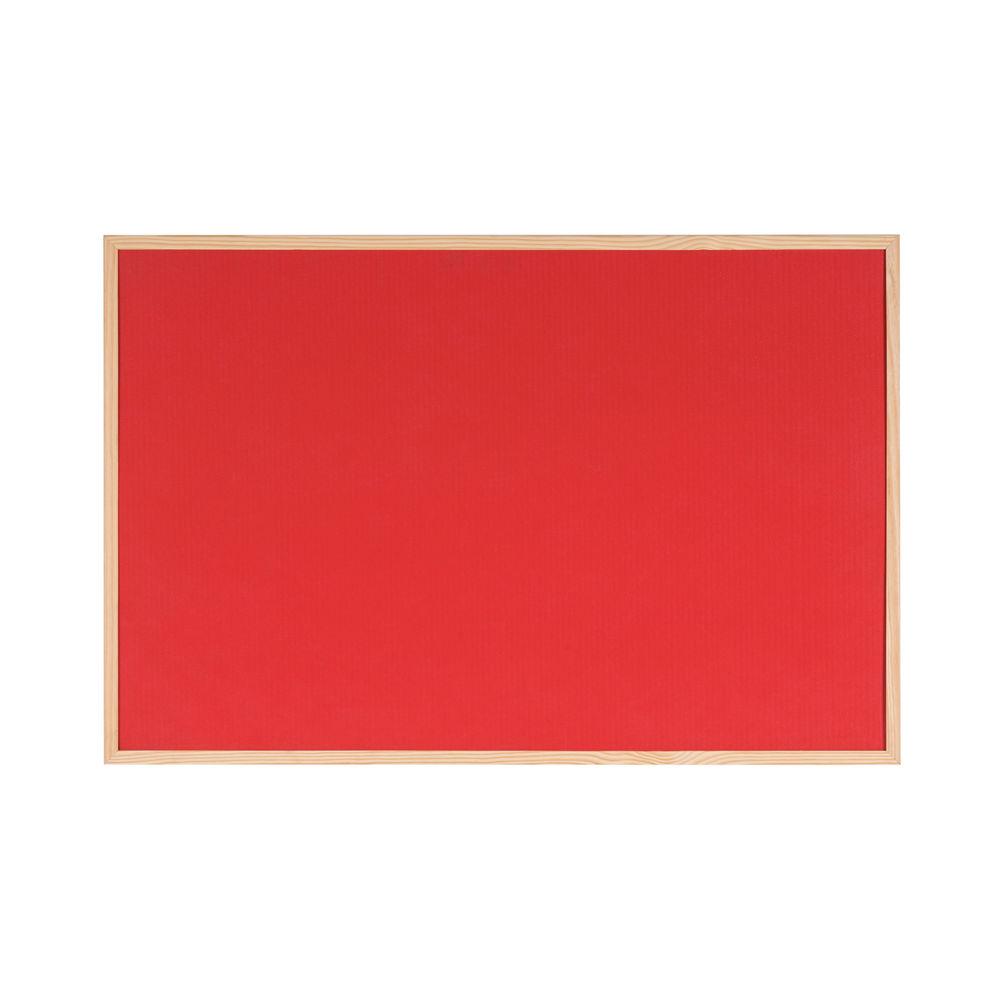 Bi-Office Reversible Cork/Felt Notice Board- FB0710010