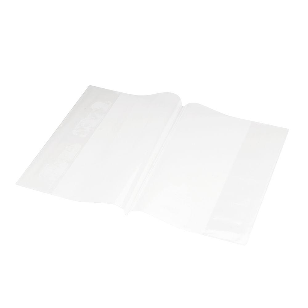 Bright Ideas Clear A4 PVC Book Cover, Pack of 10 - BI9000