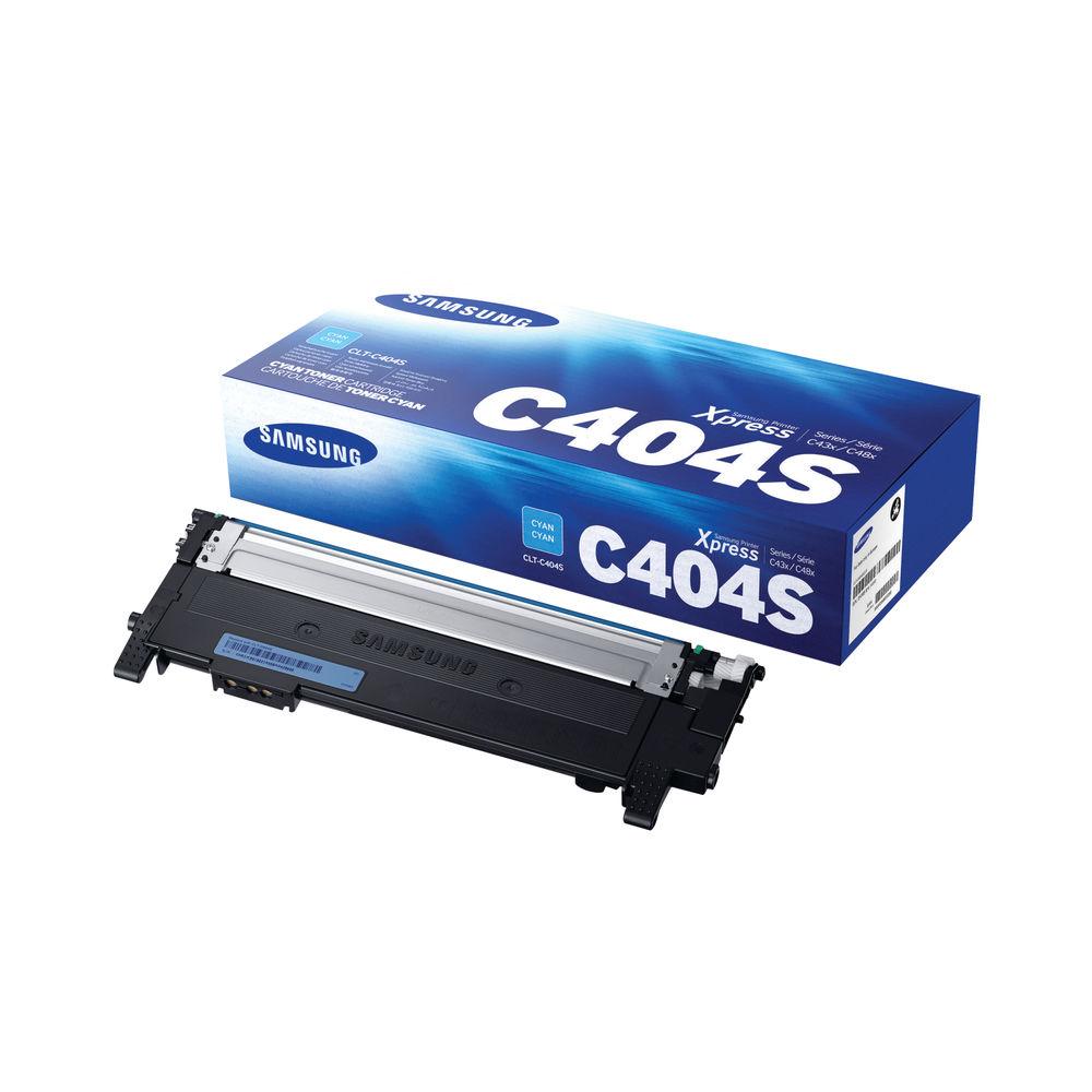Samsung CLT-C404S Cyan Toner Cartridge - ST966A