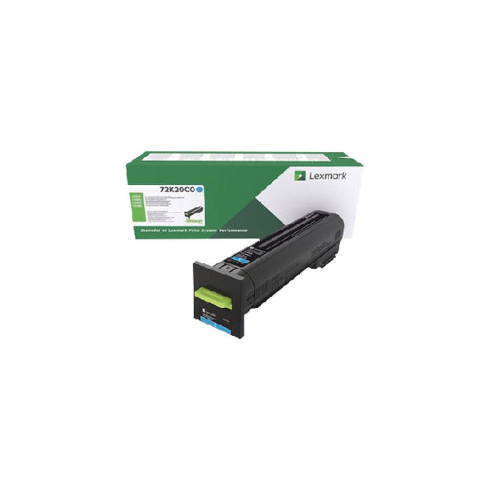 Lexmark CS82X/CX860 Cyan Return Programme Toner Cartridge 72K20C0