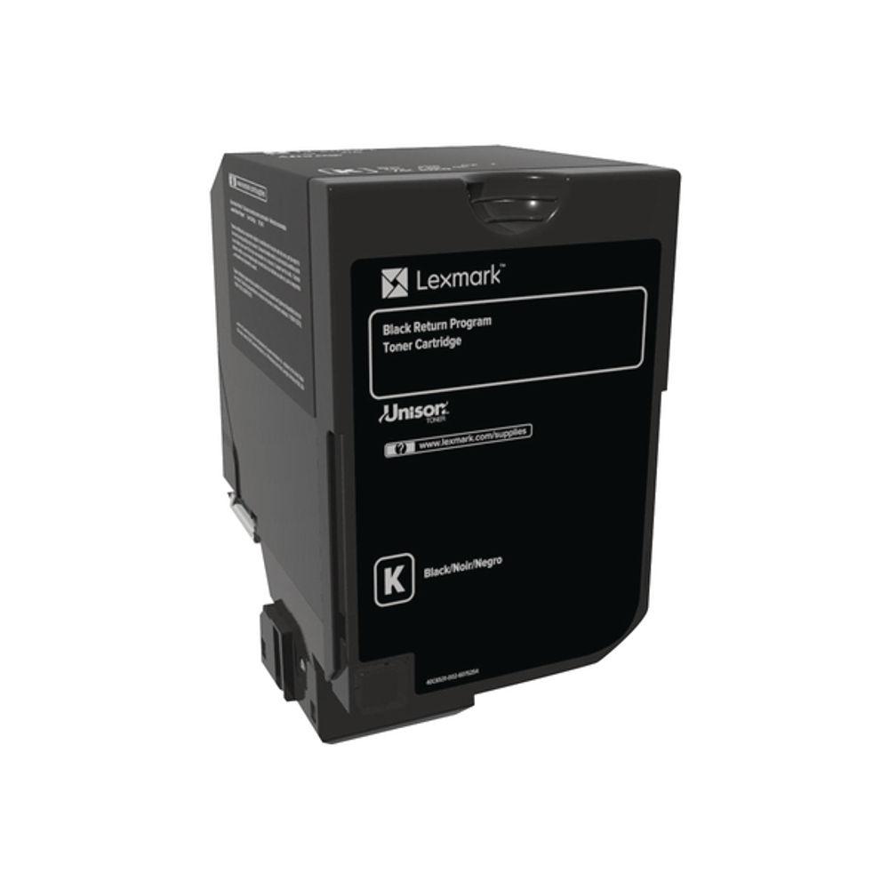 Lexmark CS720/S725/CX725 Black Return Programme Toner 74C20K0
