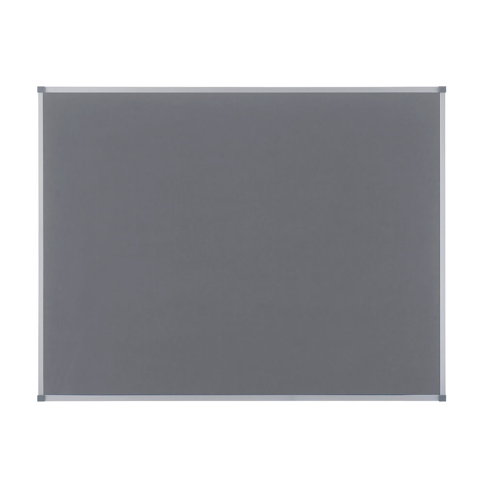 Nobo Classic Felt Notice Board, 1200 x 900mm, Grey - NB11210