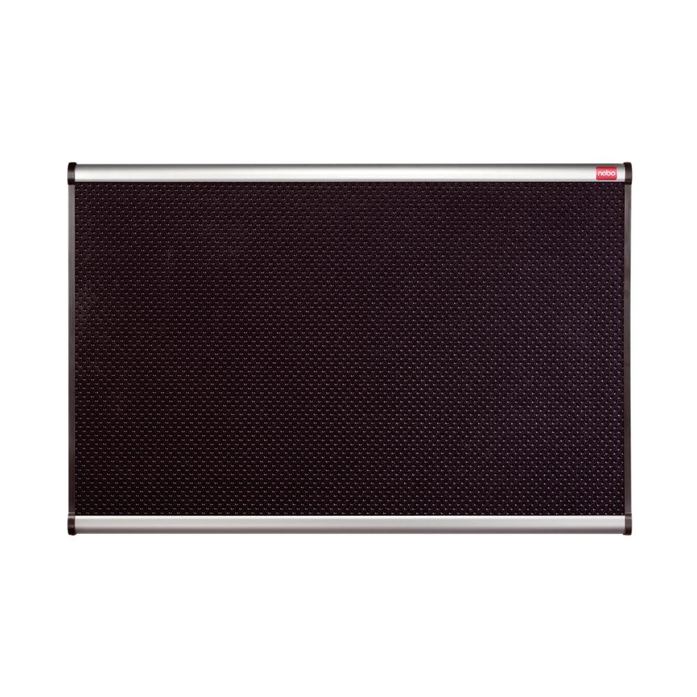 Nobo Prestige Foam Noticeboard Aluminium Frame 1200 x 900mm Black QBPF1290