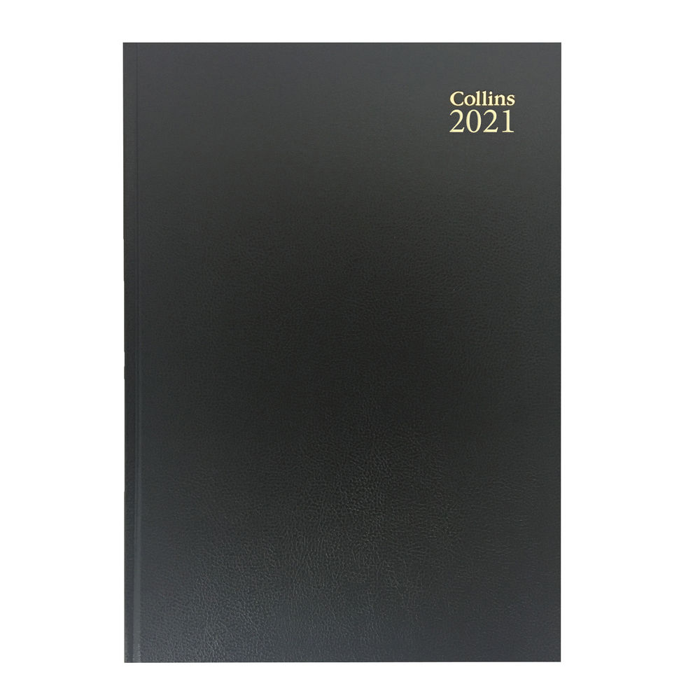 Collins Black A5 Week To View 2021 Diary - 35