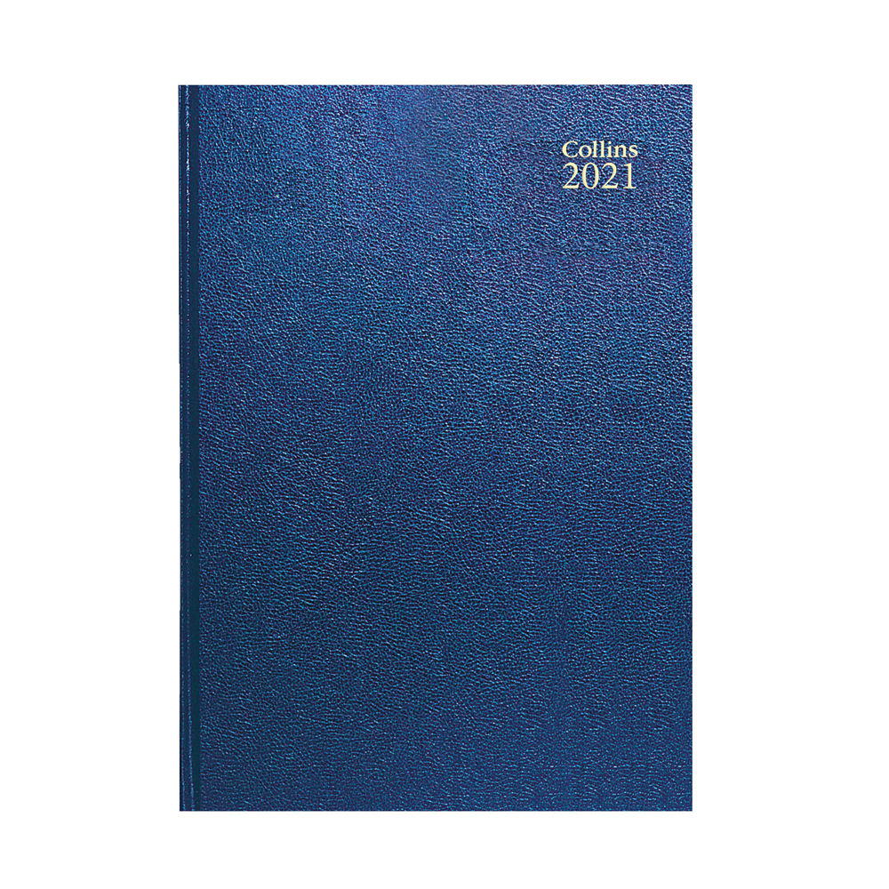 Collins Blue A4 Day Per Page 2021 Diary - 44