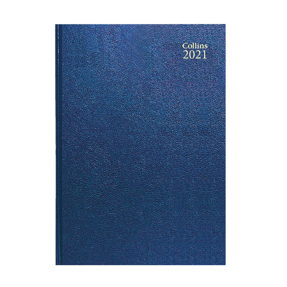 Collins Blue A5 Day Per Page 2021 Diary - 52