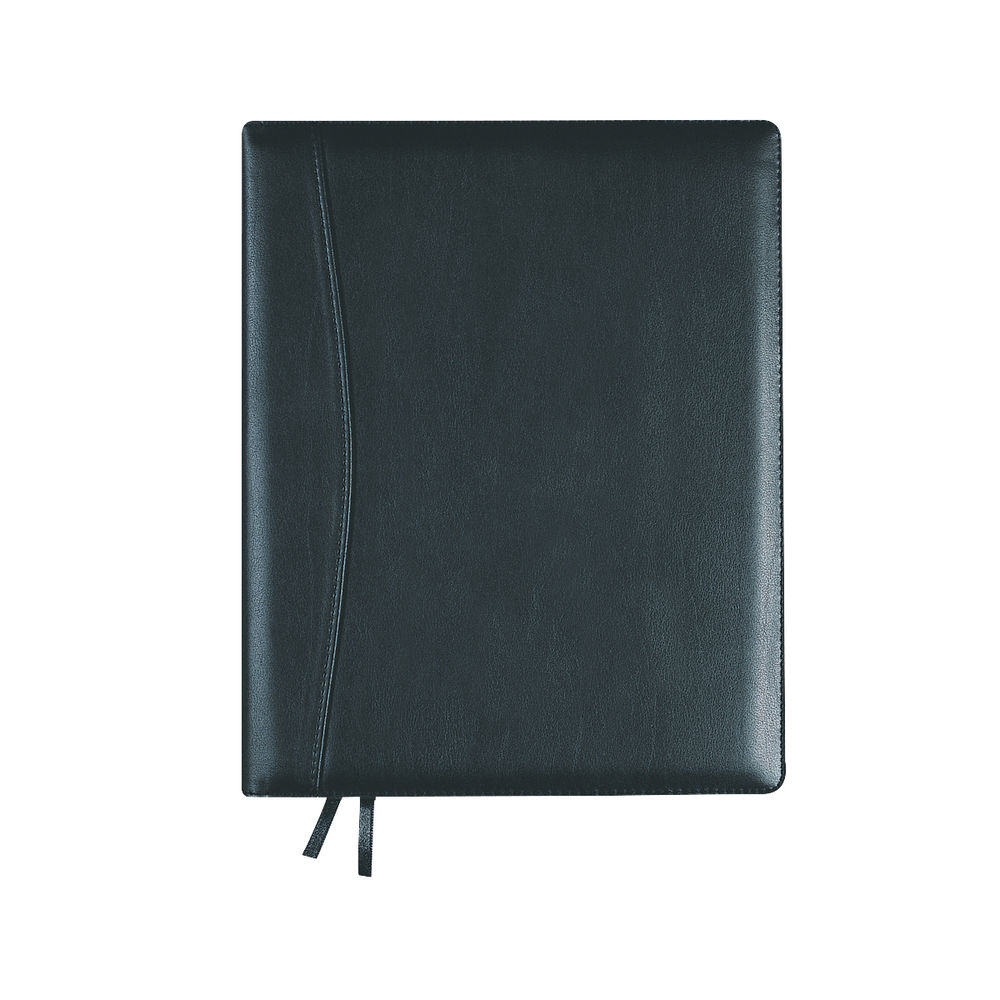 Collins Black Elite Compact Day Per Page 2021 Diary - 1140V