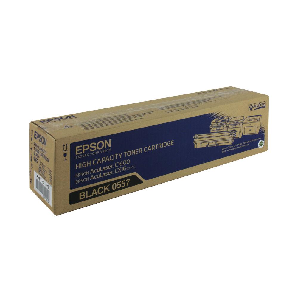 Epson C1600 High Capacity Black Toner Cartridge - C13S050557