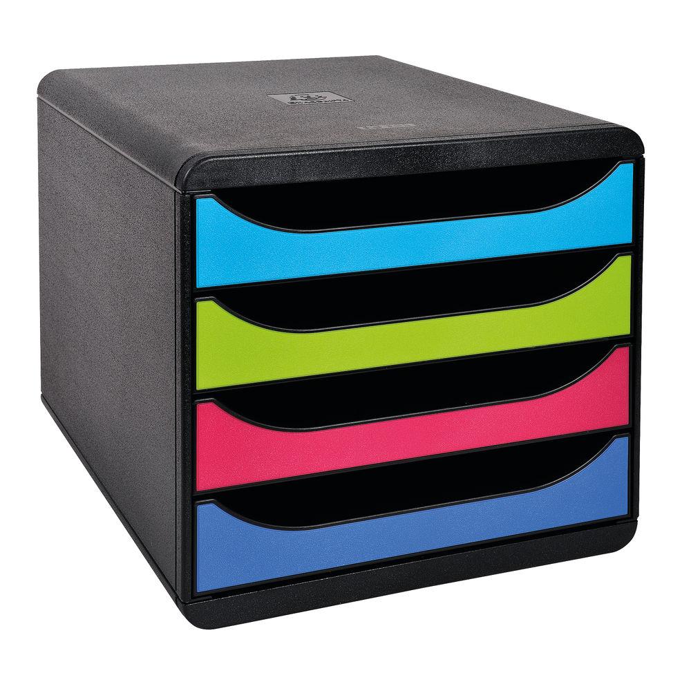 Exacompta Carbon Neutral Big Box 4 Drawer Set - 3101928D