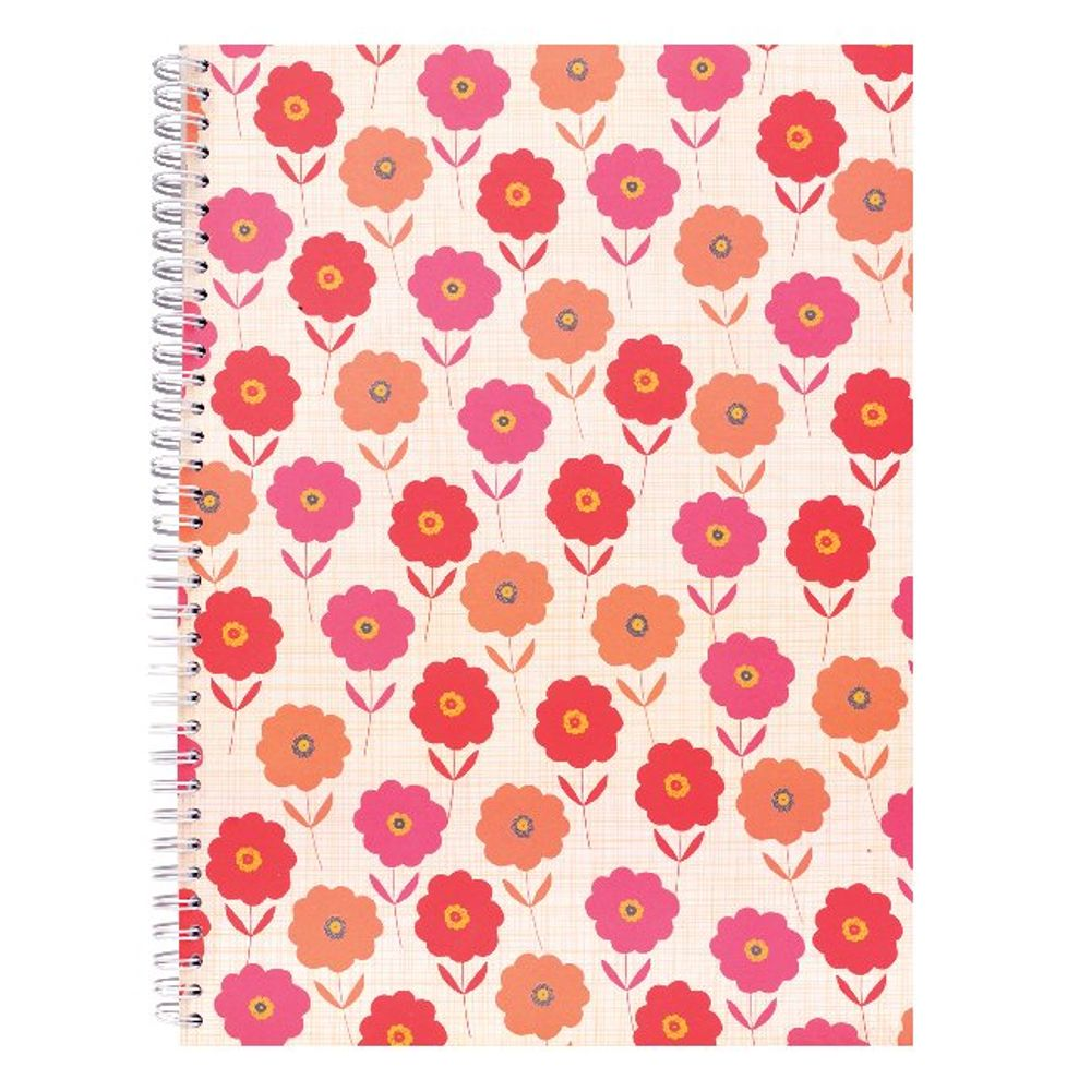 Go Stationery A4 Coral Bloom Notebook | 4NC201