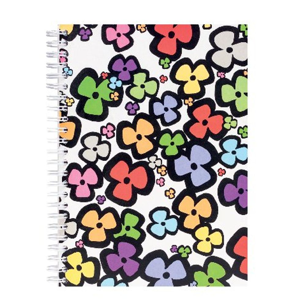 Go Stationery A5 Bright Floral Notebook | 5NC083