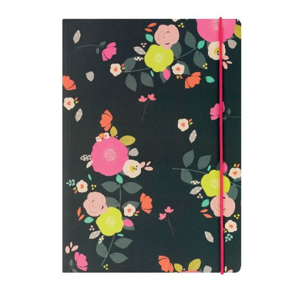 Go Stationery A5 Camden Floral Notebook - 5PN401