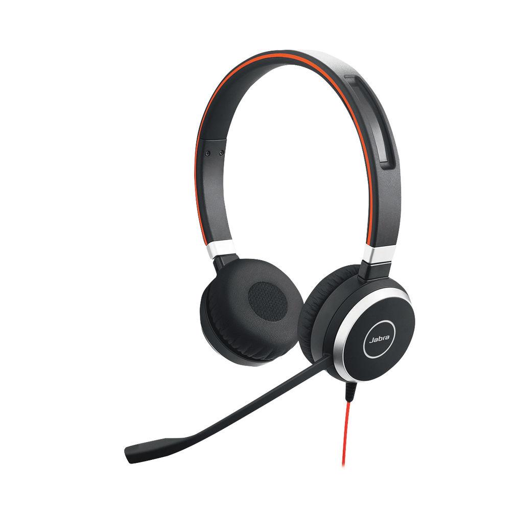 Jabra Evolve 40 MS Duo Headset - 52653