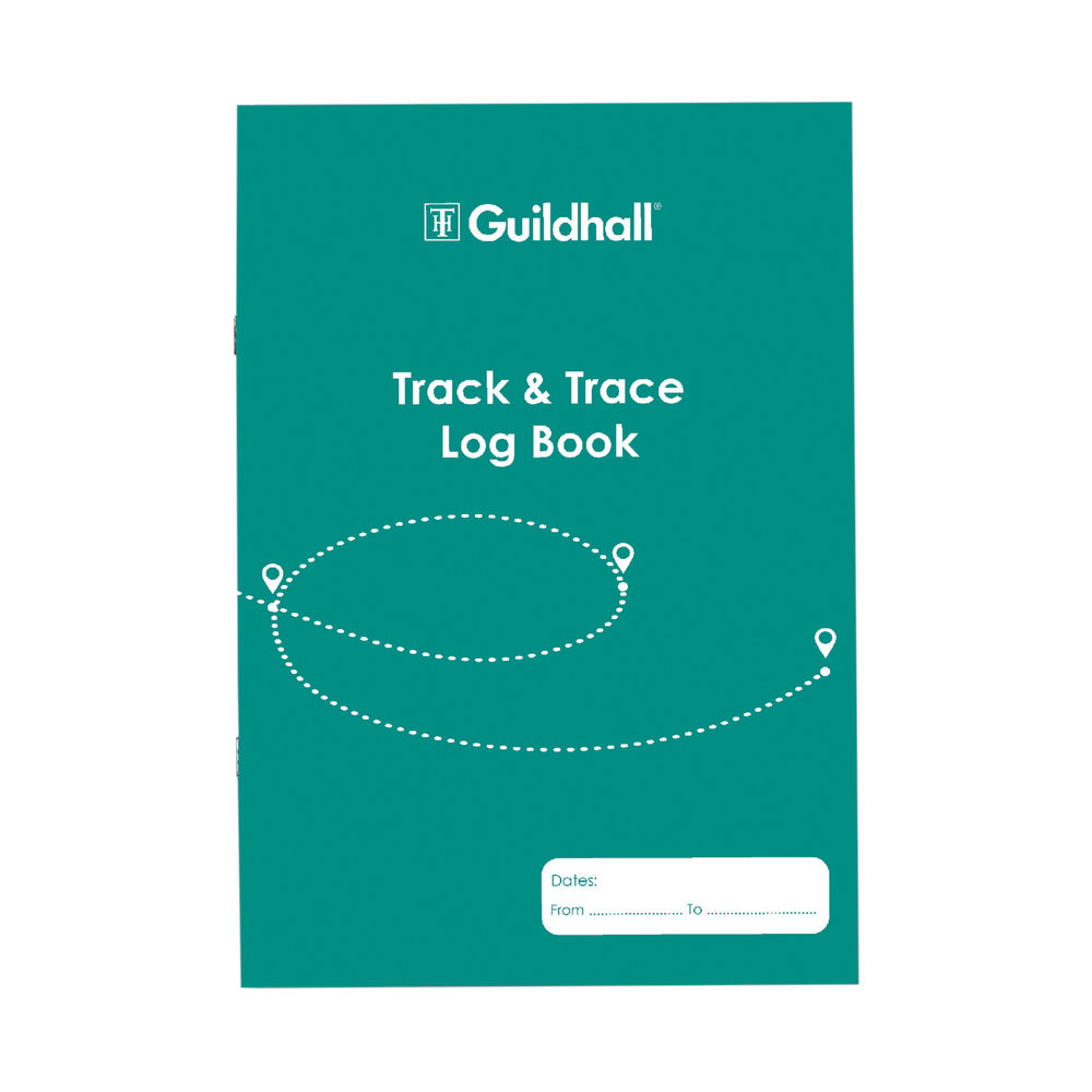 Guildhall Track/Trace Pad A4 32 Pages 2020TTZ