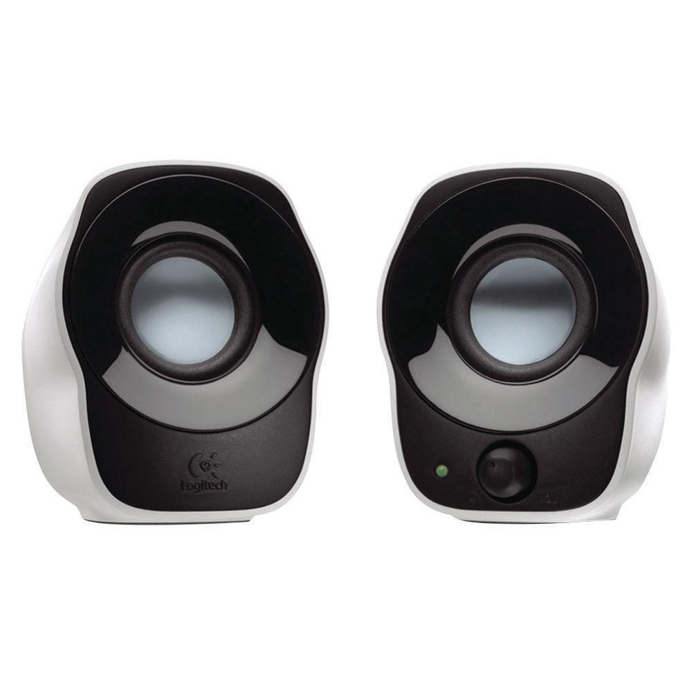 Logitech Z120 Stereo Speakers, Pack of 2 - 980-000513