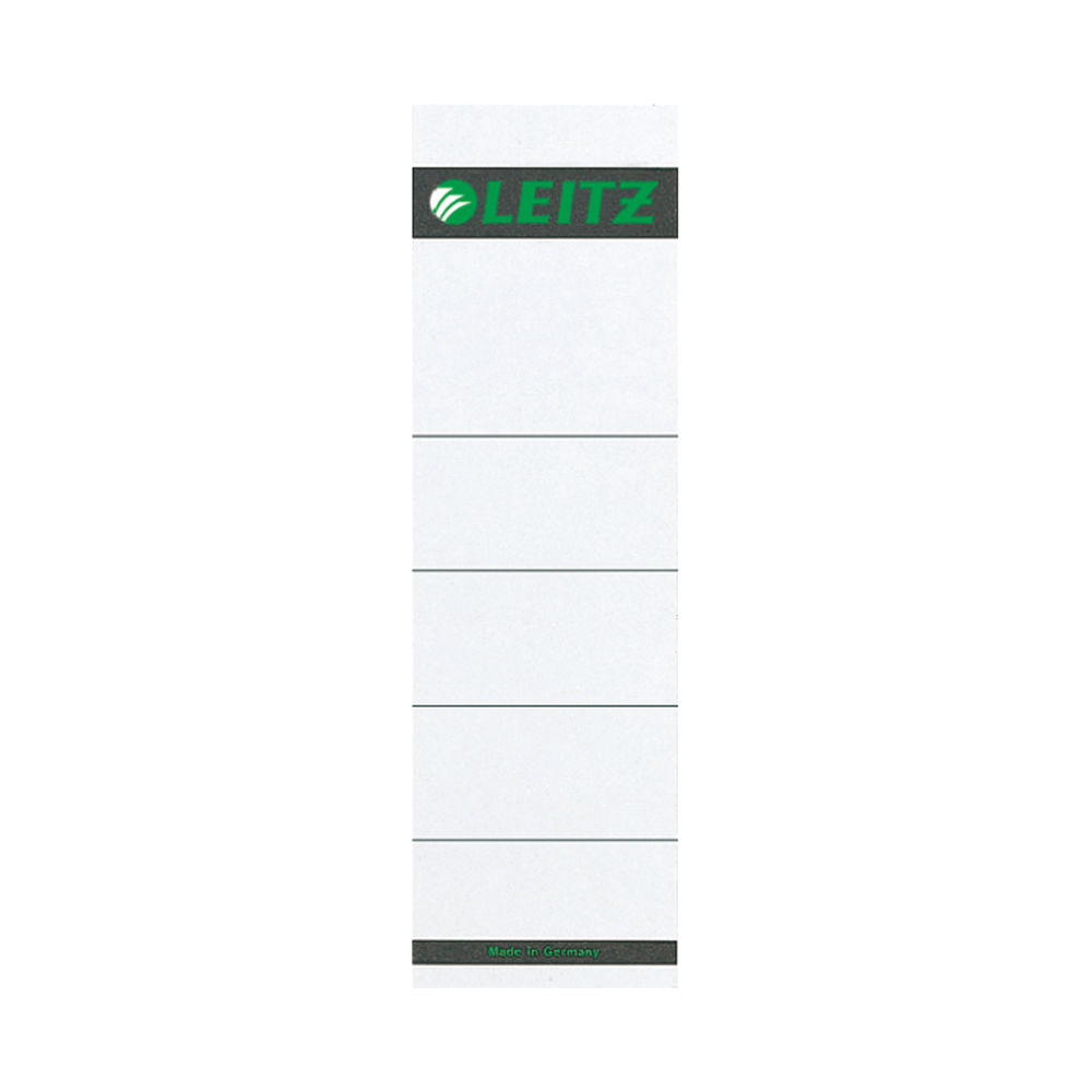 Leitz  Lever Arch Spine Labels - Self Adhesive - Pack of 10 - 16420085