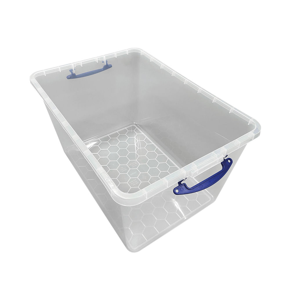 Really Useful 96 Litre Base Only Clear  96C