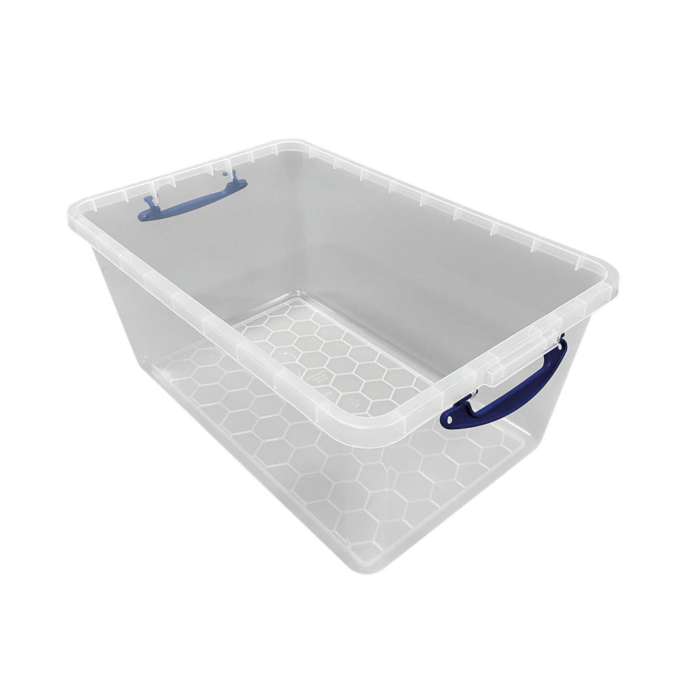 Really Useful 61 Litre Clear New Nestable  61C