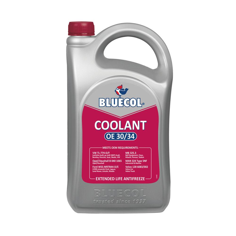 Carplan Bluecol Coolant OE30/34 Extended Life Antifreeze 5L BEL005