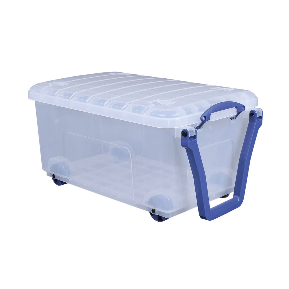 Really Useful 64 Litre Storage Box - 64MD-WHTR-CCB