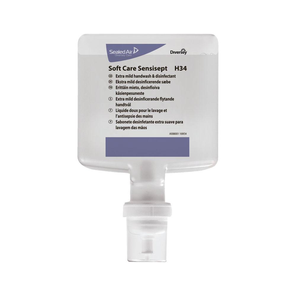 Diversey Soft Care Sensisept 1.3L (Pack of 4) 100928899