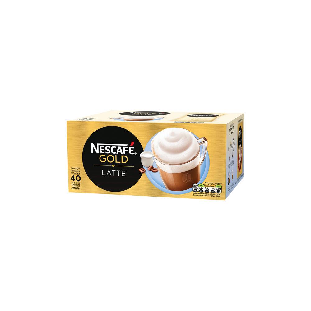 Nescafe Latte Sachets, Pack of 40 - 12314884