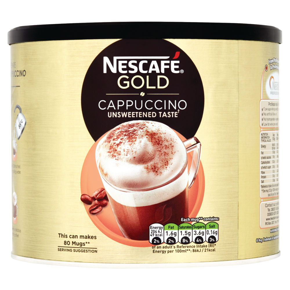 Nescafe 1kg Gold Unsweetened Cappuccino - 12314882
