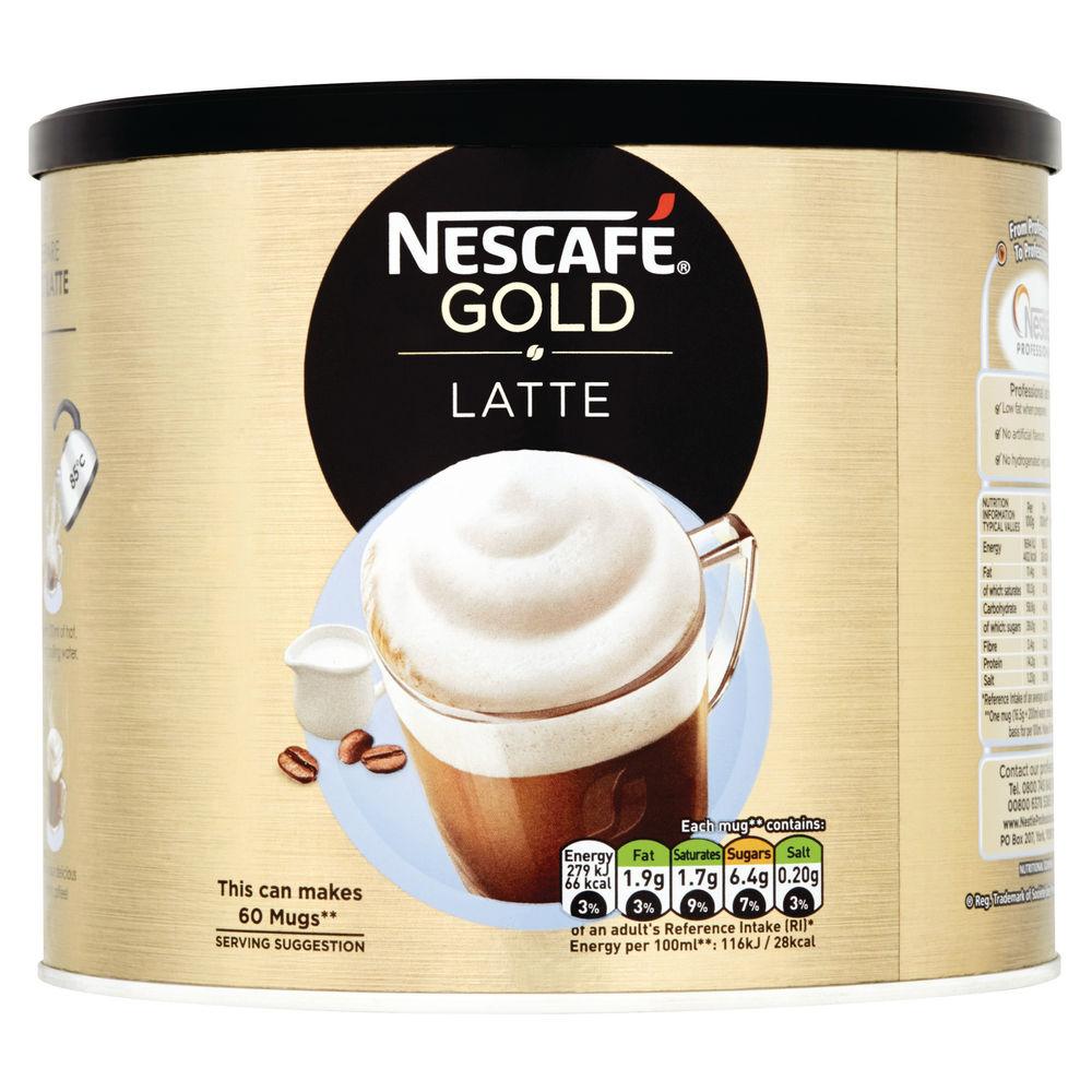 Nescafe Gold Latte 1kg Tin - 12314885