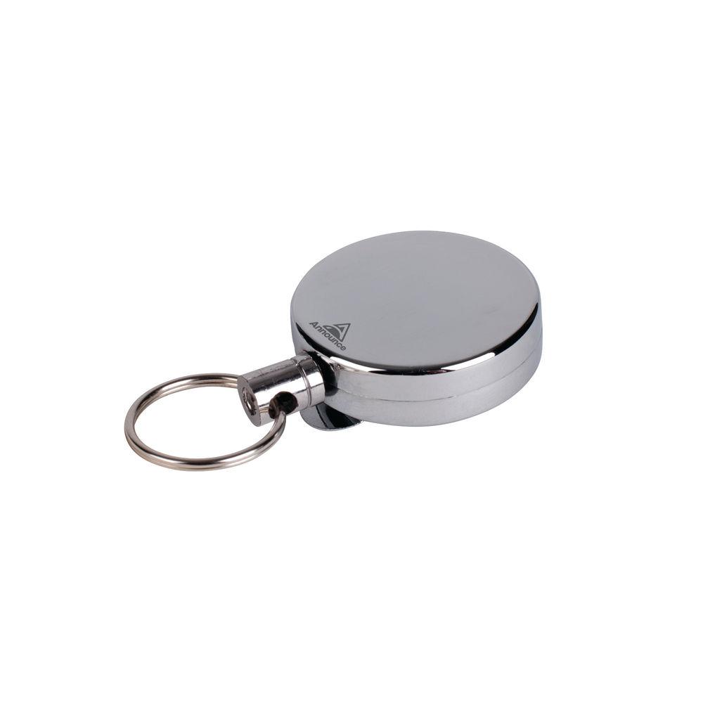 Announce Badge Reel 660mm Chrome (Pack of 10) PV00676