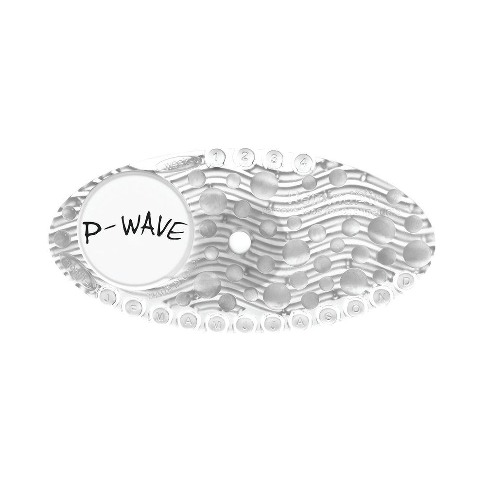 P-Wave Curve Clear Mango Air Freshener, Pack of 10 - WZCV60MG