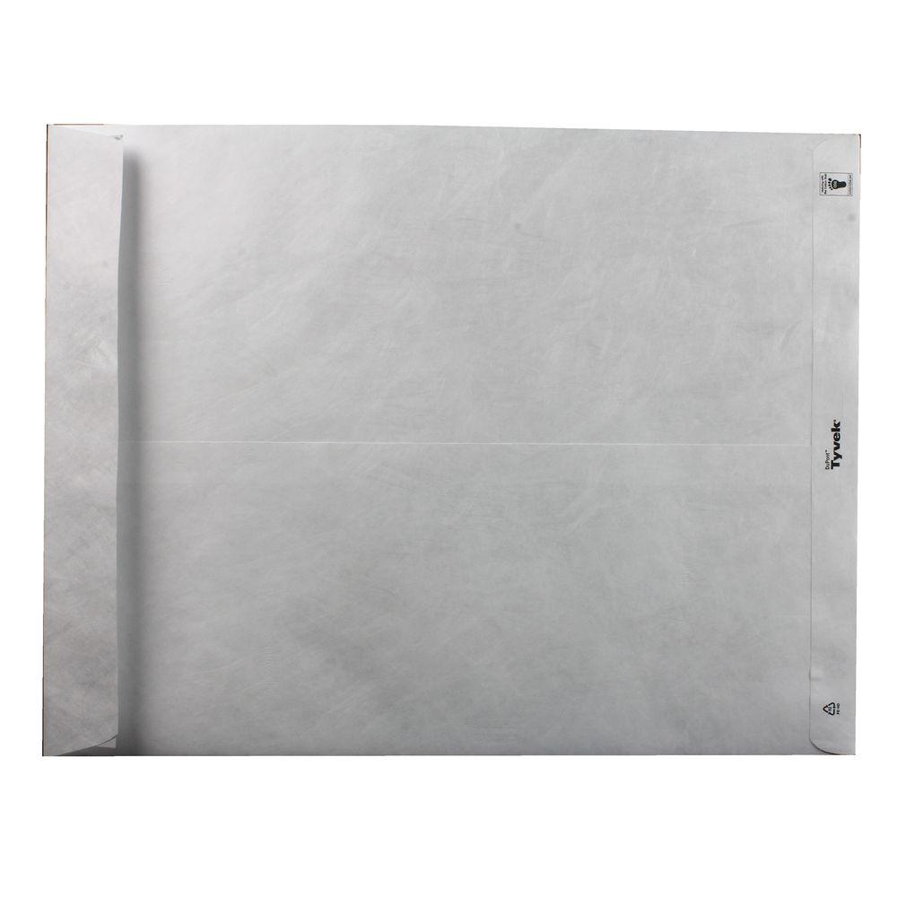 Tyvek Envelope 394x305mm Pocket Peel and Seal White (Pack of 100) 558024