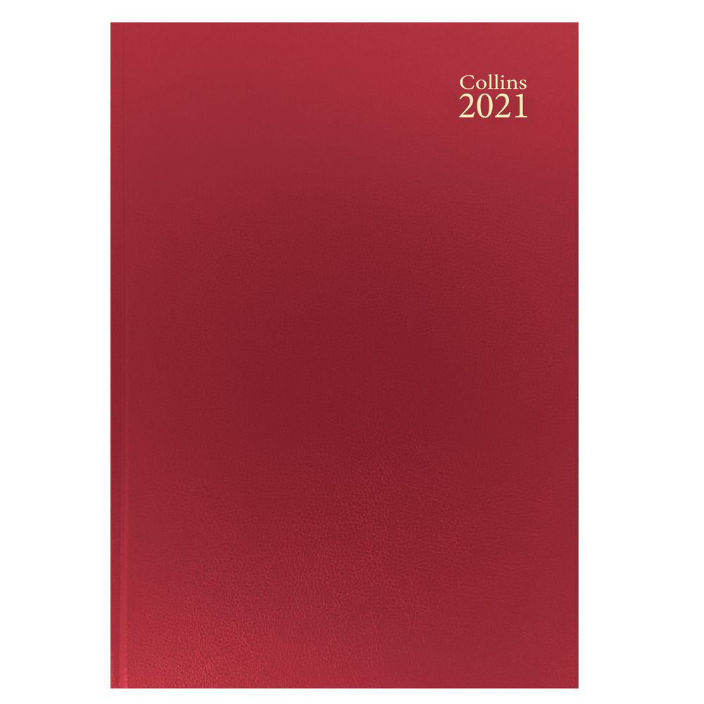 Collins Red A4 Week To View 2021 Diary - 40