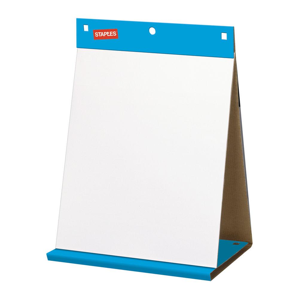 Staples Stickies Table Top Pad 585x500mm 80gsm 20 Sheet FL1421203