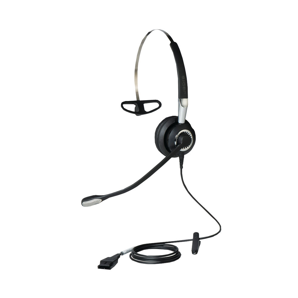 Jabra BIZ 2400 II QD Mono NC 3 in 1 (PeakStop technology keeps sounds levels safe) 2406-820-204