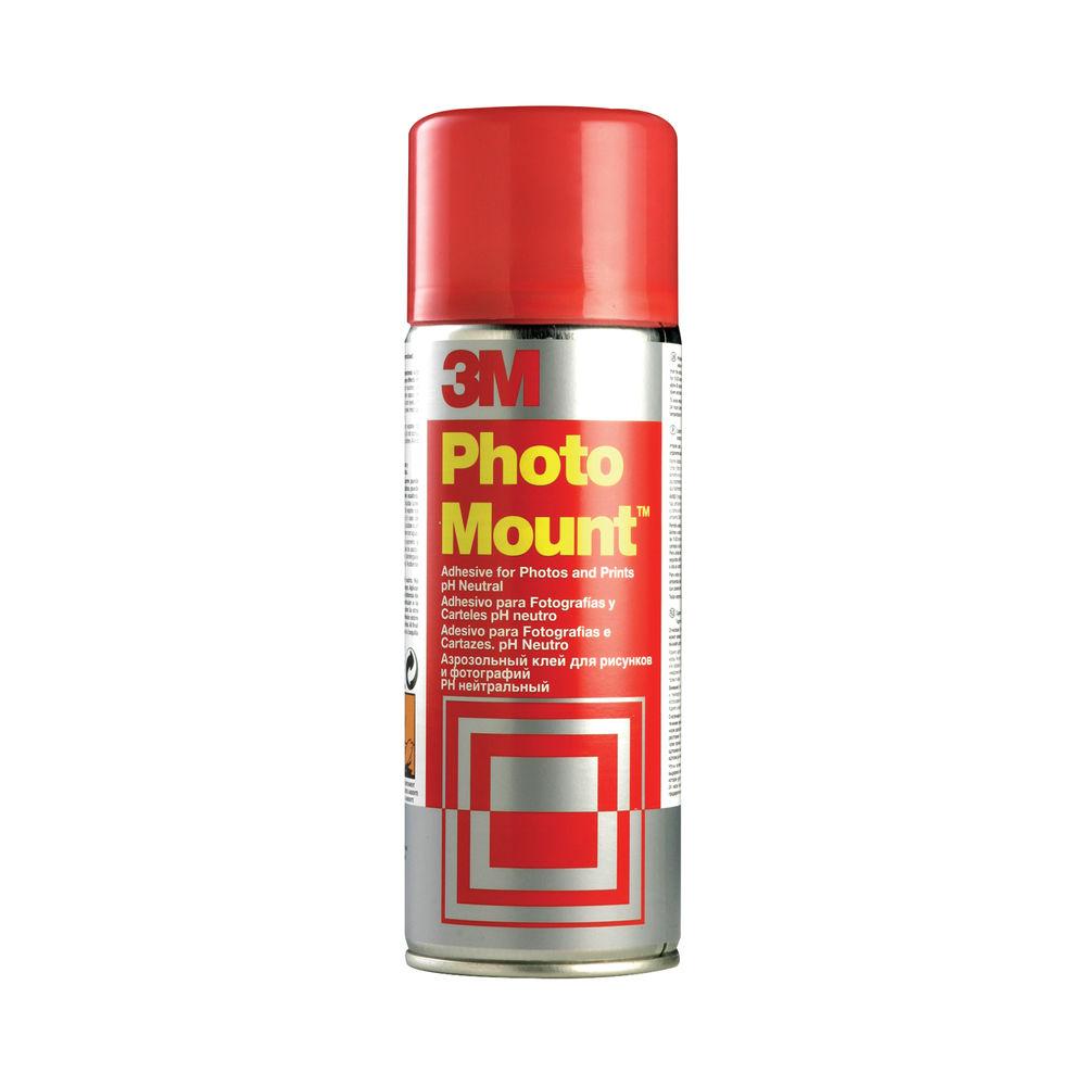 3M PhotoMount Spray High Strength Adhesive 400ml PHMOUNT