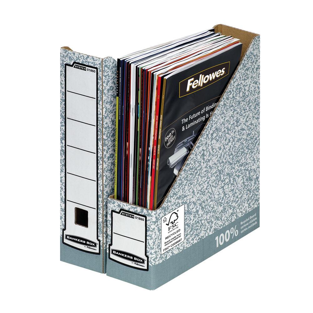 Bankers Box Premium Magazine Files, Pack of 10 - 0186004