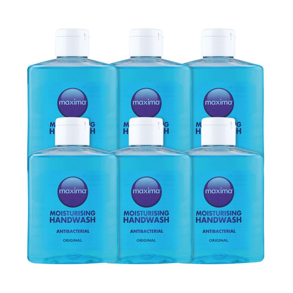 250ml Antibacterial Soaps, Pack of 6 - 0604002