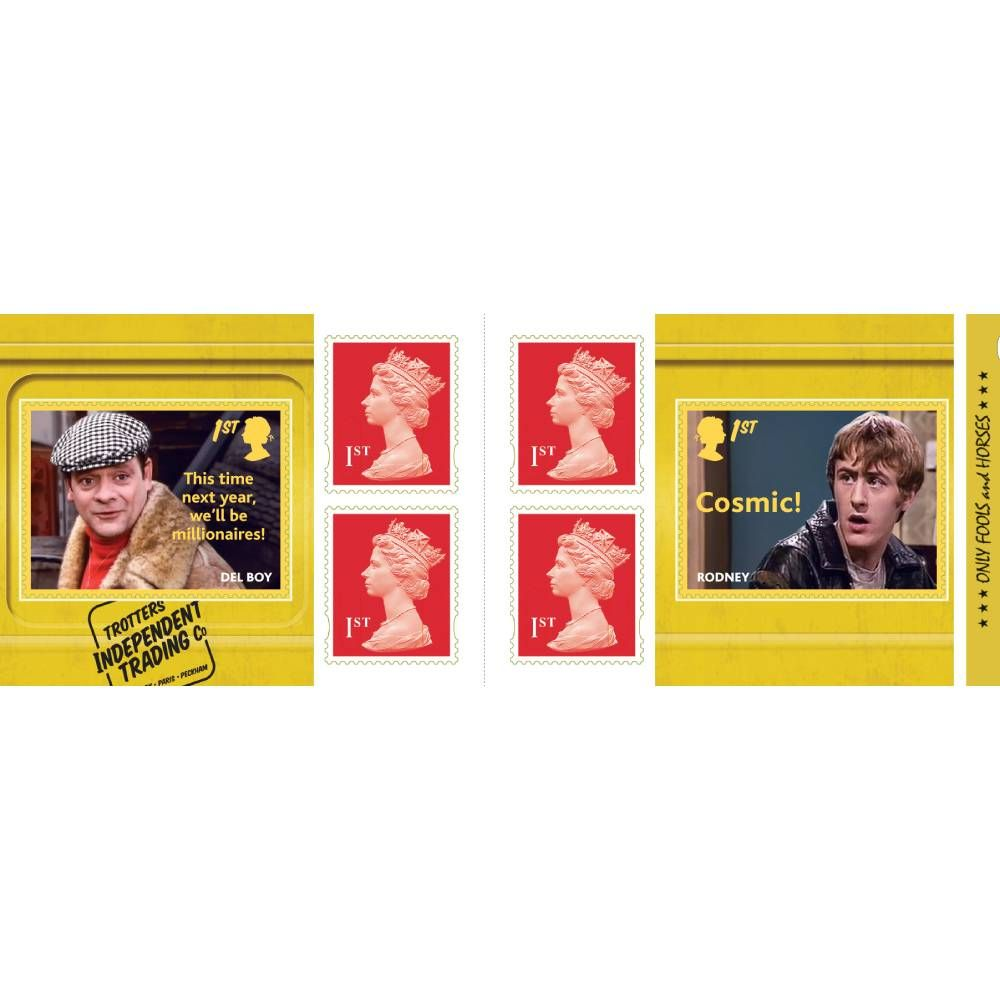 1st Class Stamps x 6 Pack - (Postage Stamp Book) Only Fools and Horses