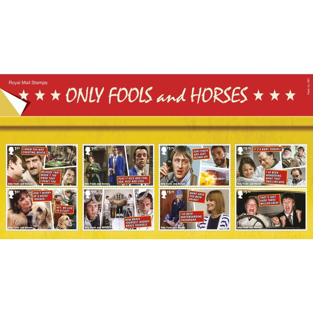 Only Fools and Horses Presentation Pack and Minisheet