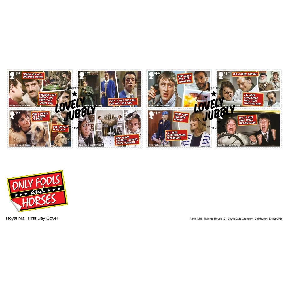 Only Fools and Horses Souvenir Stamp Cover