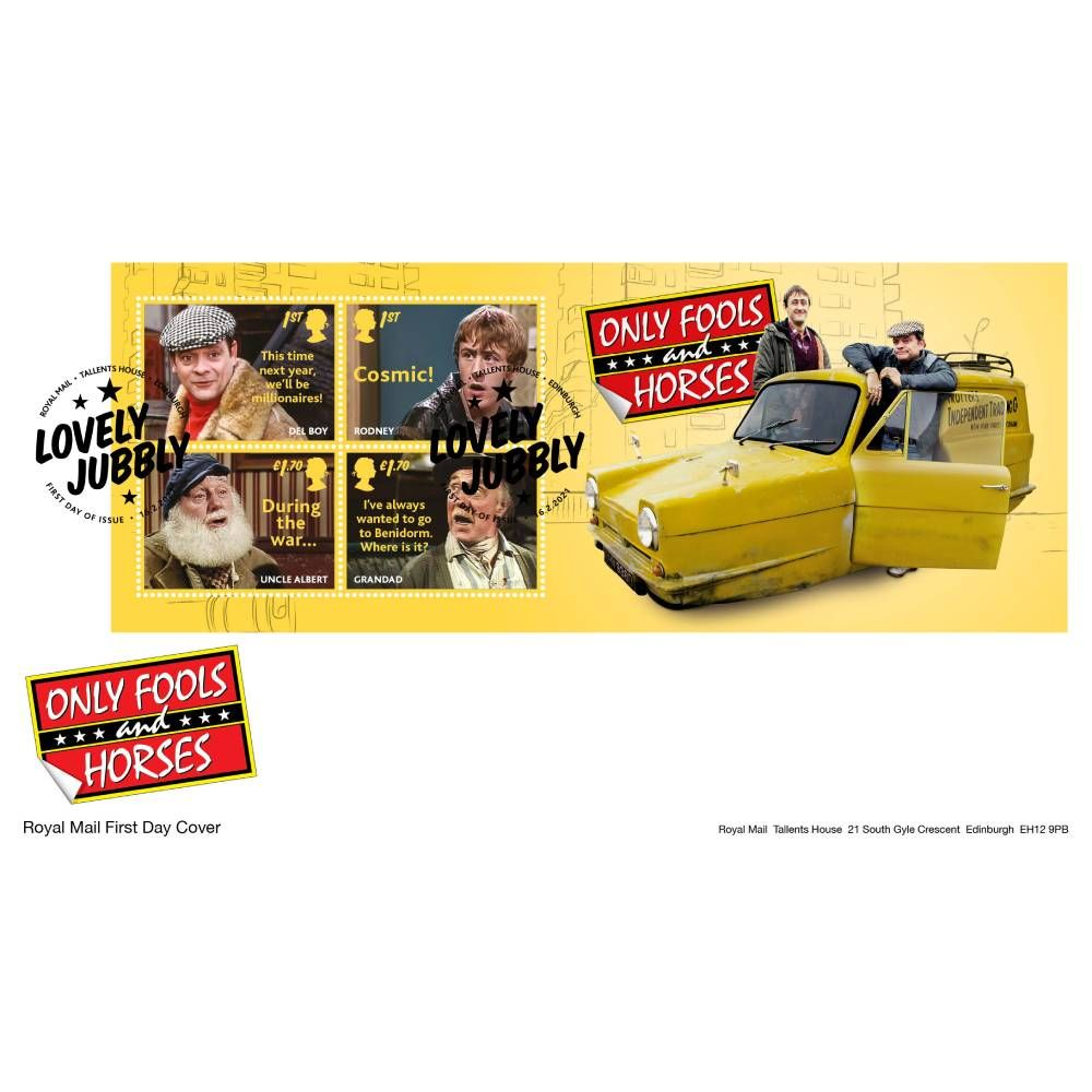 Only Fools and Horses Souvenir Minisheet Cover