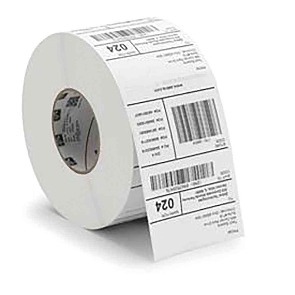 Zebra 102 x 152mm 1000D Industrial Printer Label Paper, Pack of 4 - 3007096-T