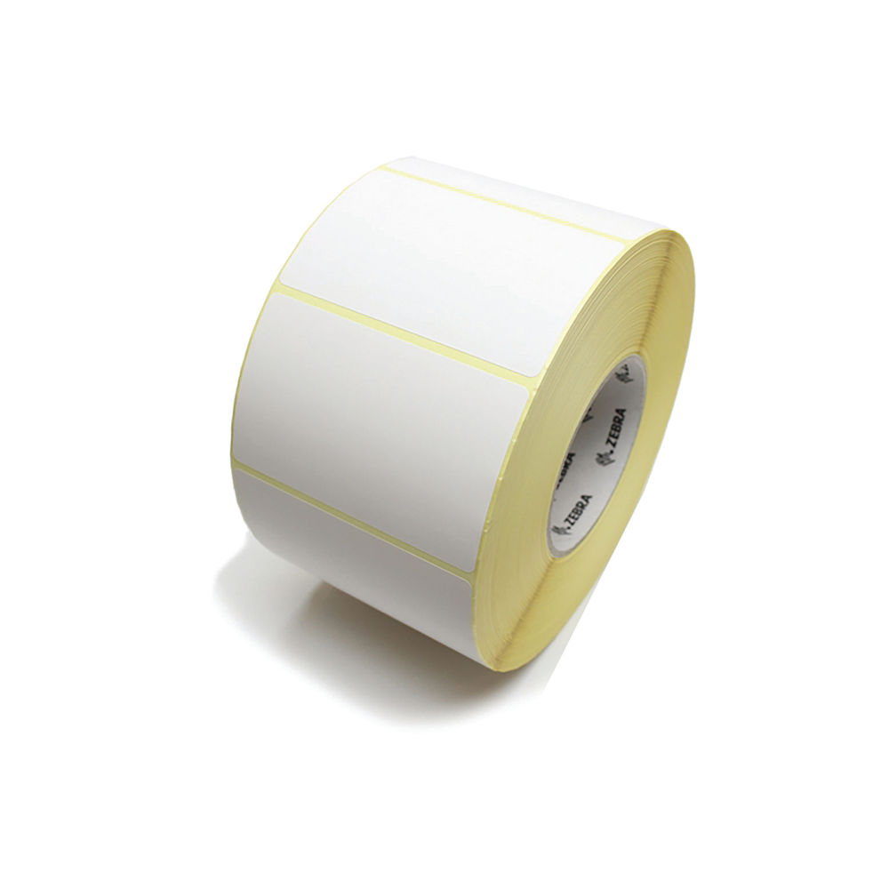 Zebra 148 x 210mm 1000D Industrial Printer Label Paper, Pack of 4 - 3005103
