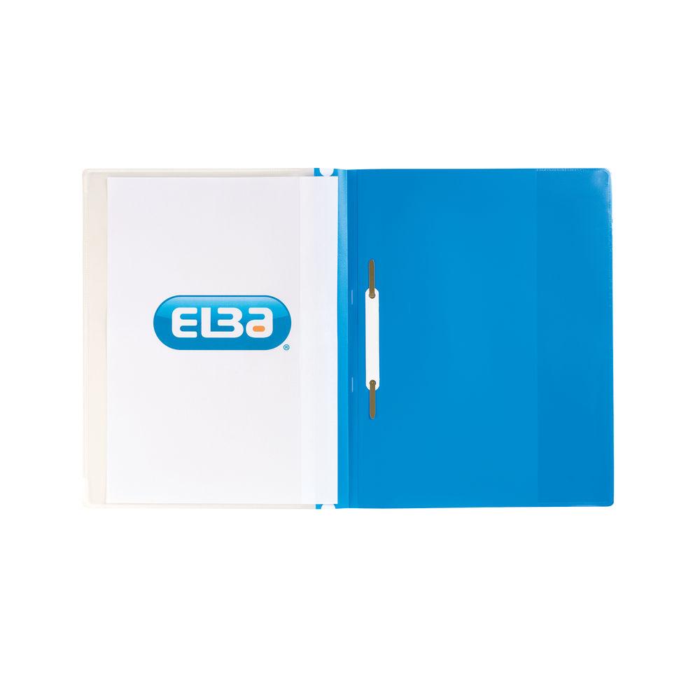 Elba Blue A4 Pocket Report File (Pack of 25) 400055037