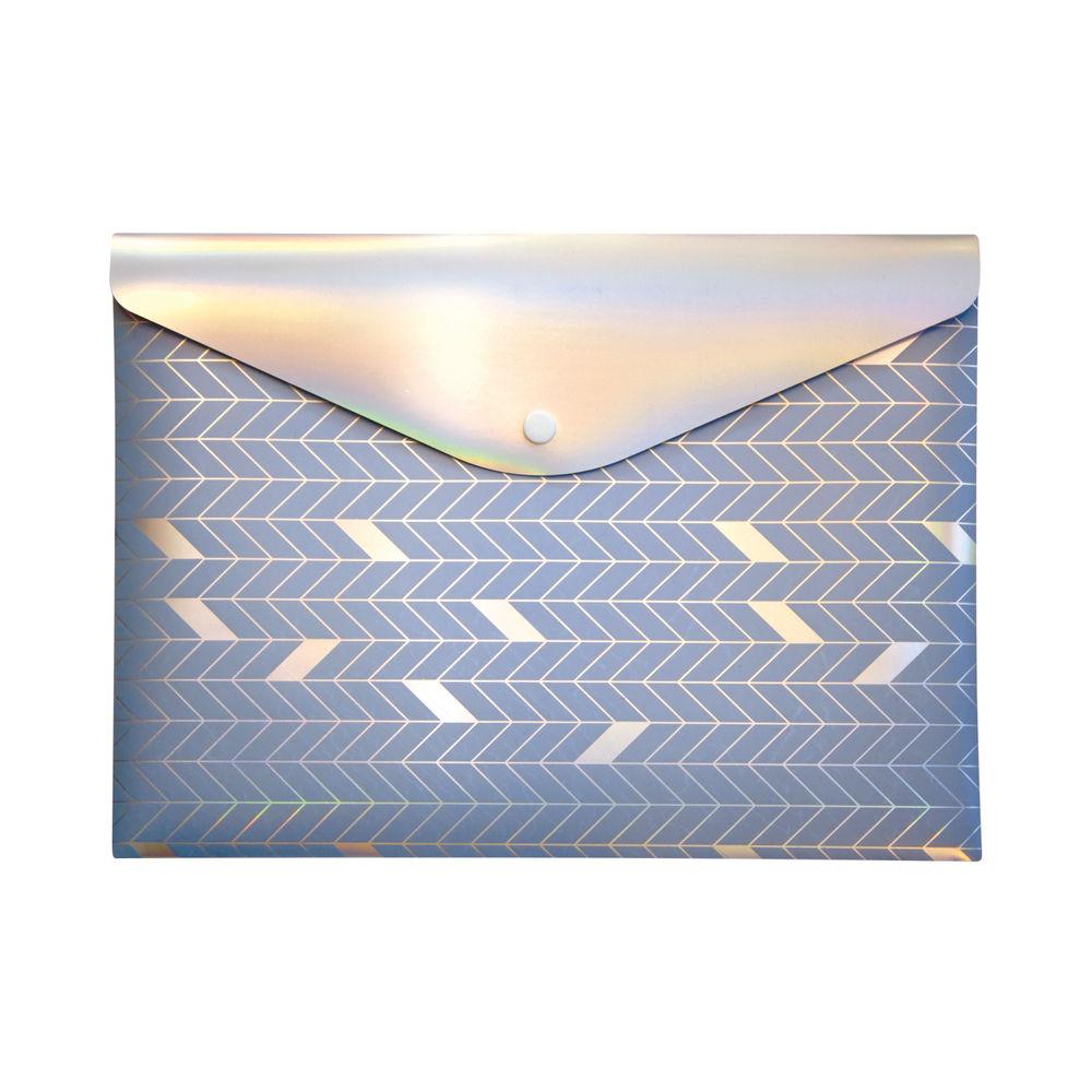 Pukka Glee Stud Wallet Light Blue (Pack of 12) 8703(LE)-GLE