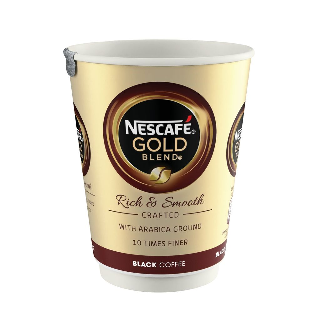 Nescafe and Go Gold Blend Black Coffee Cups - Pack of 8 - 12033810